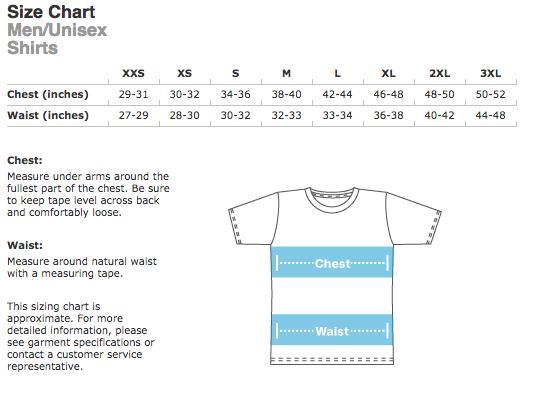 tshirt-chart
